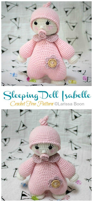 Free Amigurumi And Crochet Patterns: Free Pattern: Crochet Sleepy ... | 1240x570