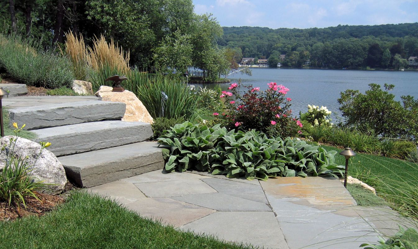 Walks clc landscape design natural landscaping with for Natural landscape design