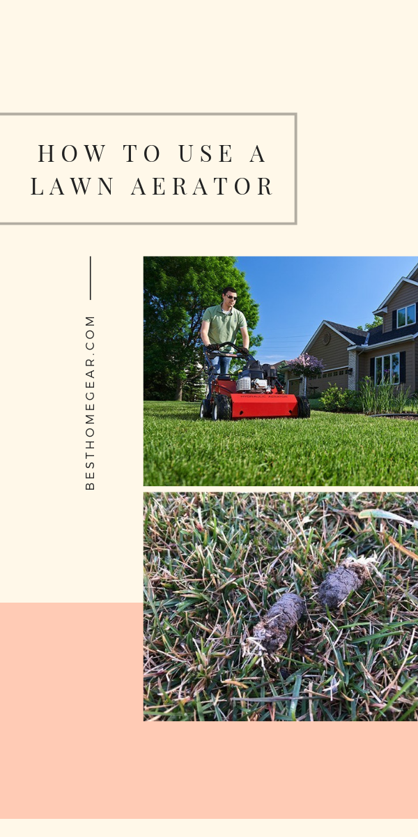 How To Use A Lawn Aerator Aerate Lawn Lawn Care Lawn Care Tips