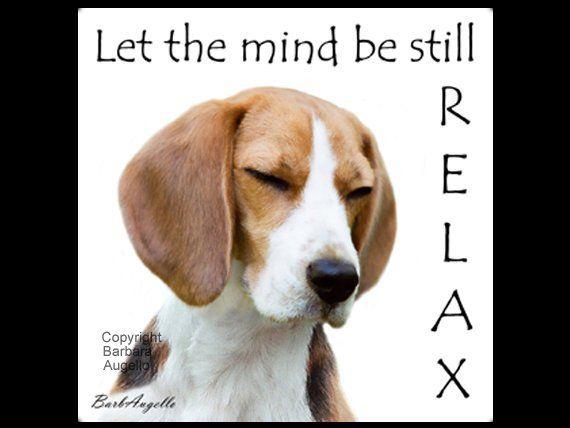 Beagle Coasters Beagle Gifts Beagle Art Yoga Coasters Yoga