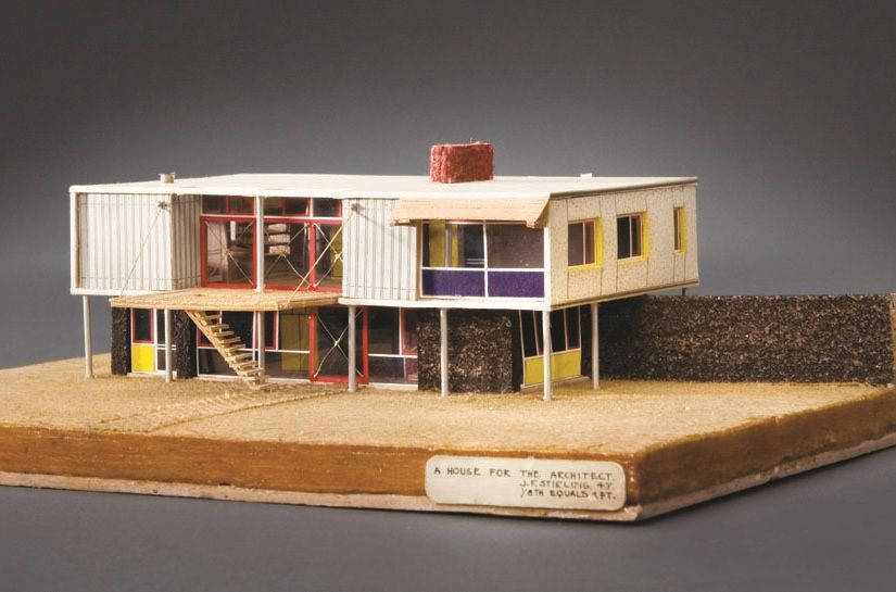 James Stirling House For Himself Architectural Model Maqueta
