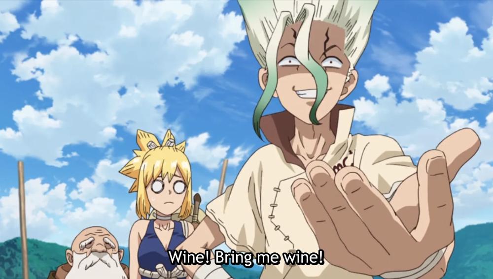 Dr. Stone Episode 15 A Breath of Fresh Air Anime