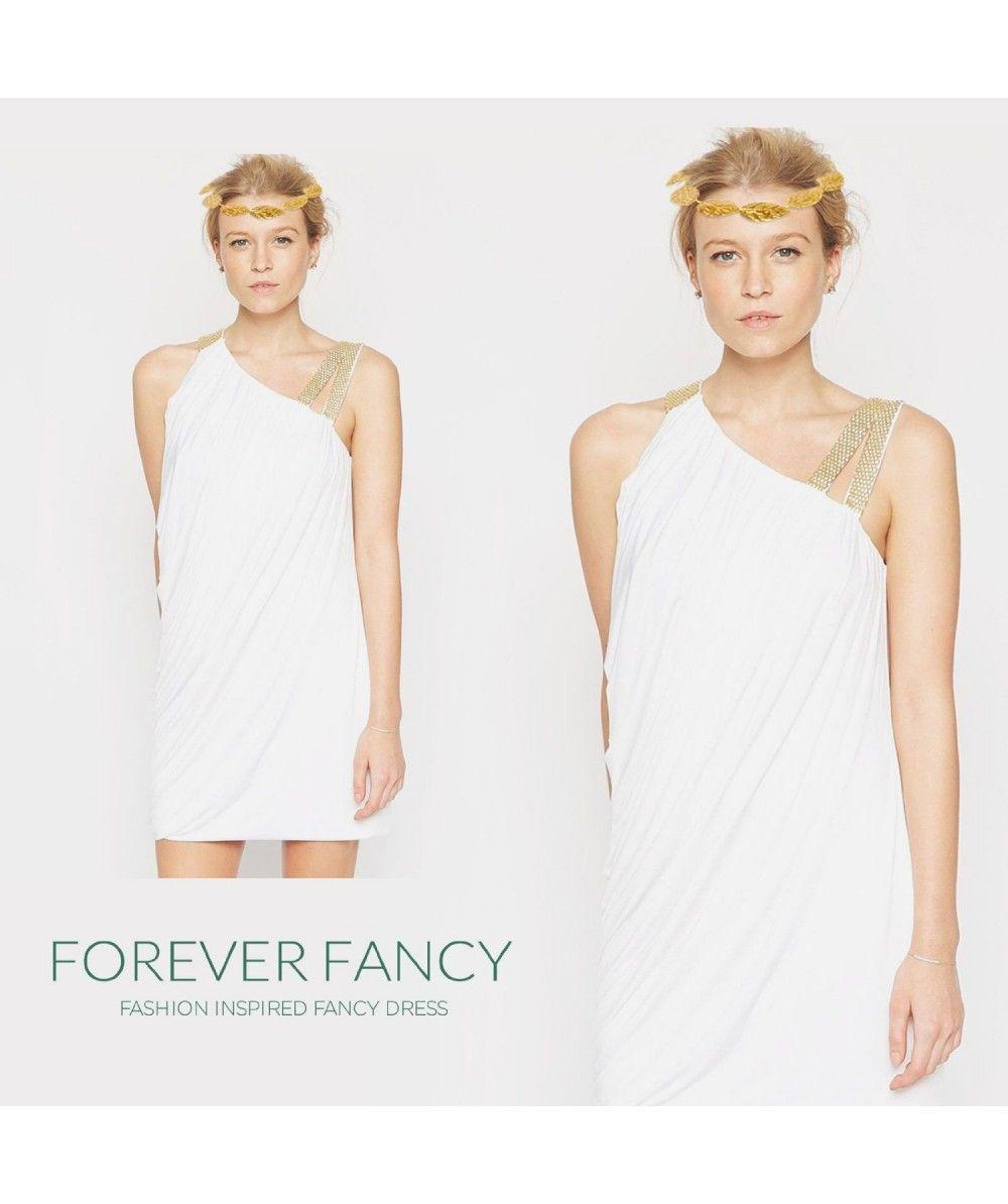 Ladies\' Deluxe Classic Toga UK Roman Empire Fancy Dress Greek Ladies ...