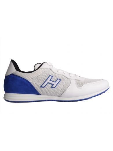 5d718f0a5cf HOGAN Hogan Sneaker Olympia X H205 In Suede Blue. #hogan #shoes #sneakers