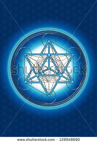 stock-photo-merkaba-star-tetrahedron-metatrons-cube-background-flower-of-life-128948690.jpg (318×470)