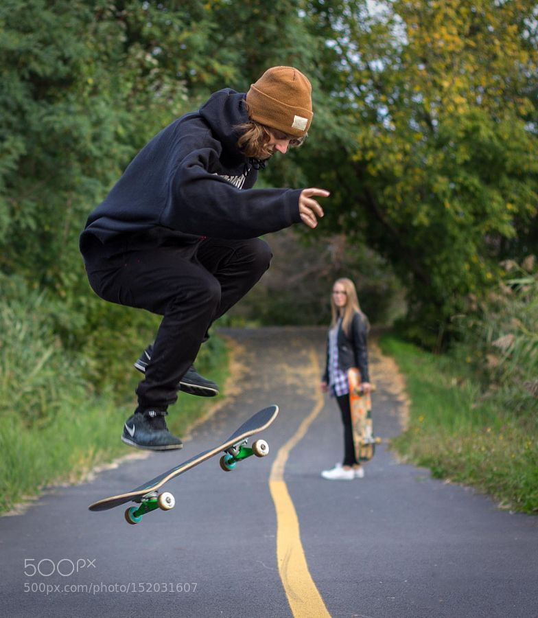 Le skater by lise_morin13 Sport Photography #InfluentialLime