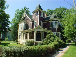 Allegan Mi Historic Homes Victorian Homes Allegan