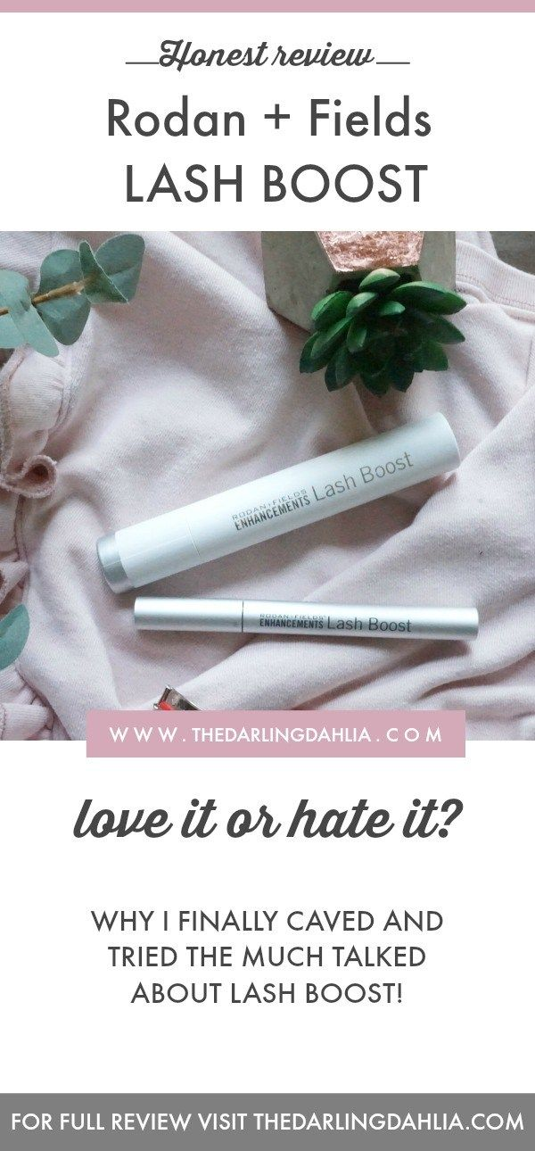 Let's talk R+F Lash Boost The Darling Dahlia Lash