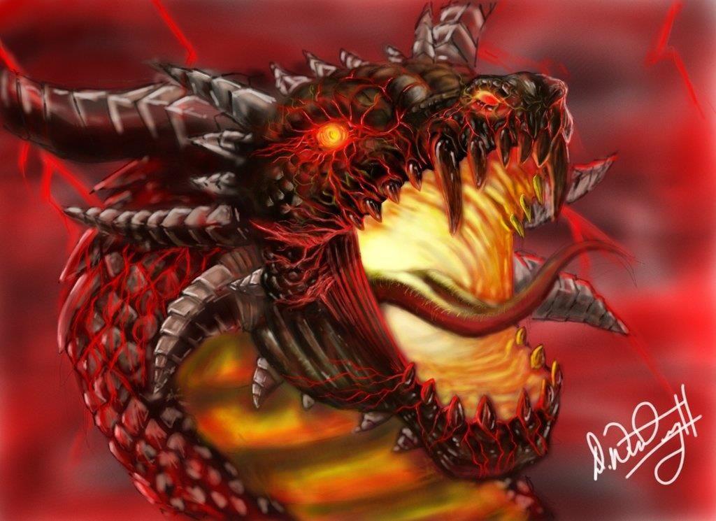 angry dragon head fantasy phreek dragons pinterest dragon