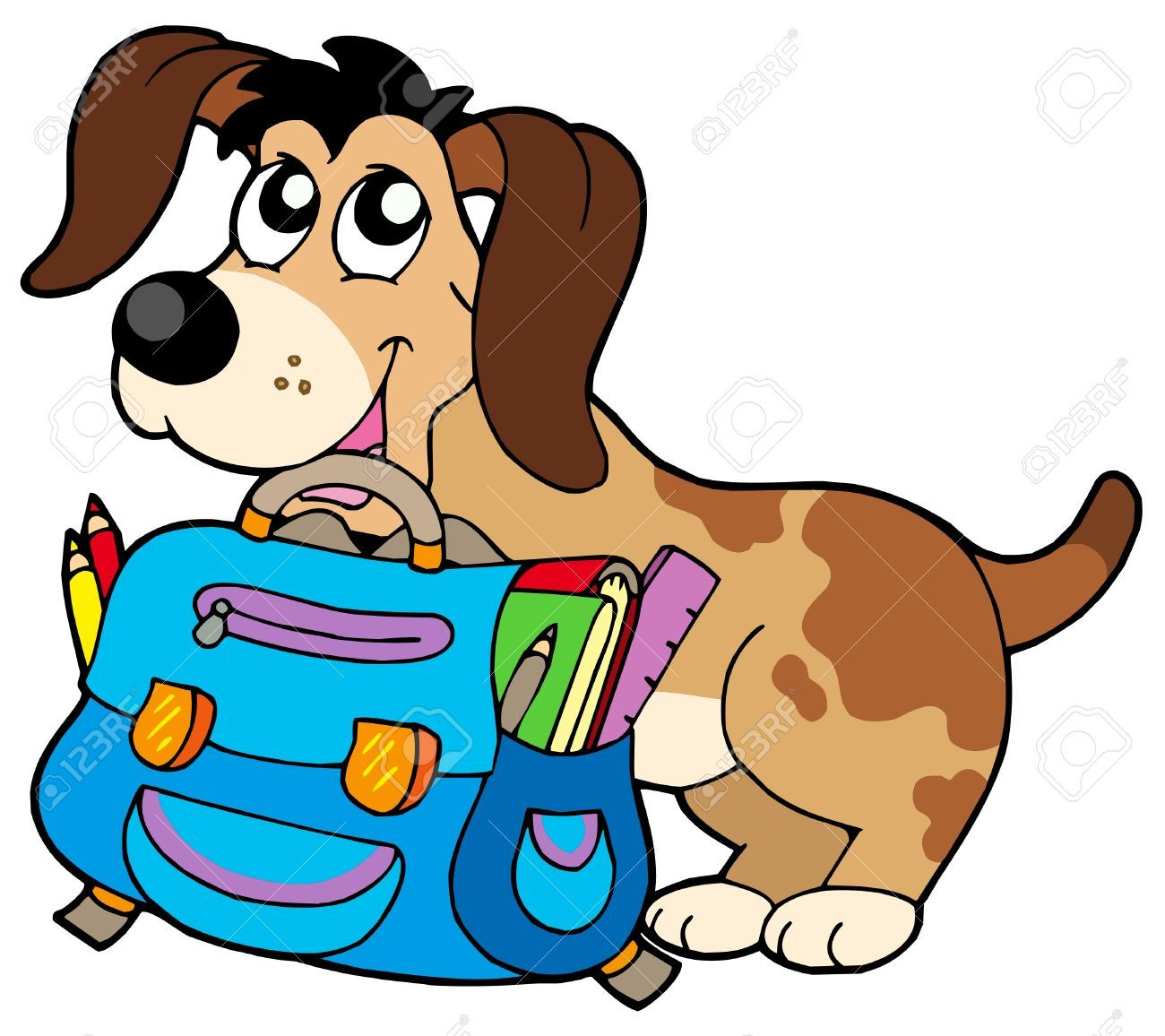 chien lunette clipart google search image pinterest rh pinterest com Elephant Clip Art School Cute School Clip Art