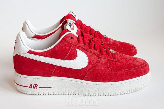 obuwie całkiem tania taniej Nike Air Force 1 Suede - Purple oraz Red (2013)   nike ...