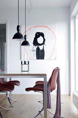 Black Mhy pendant lamps by Muuto    Homie   Interior design