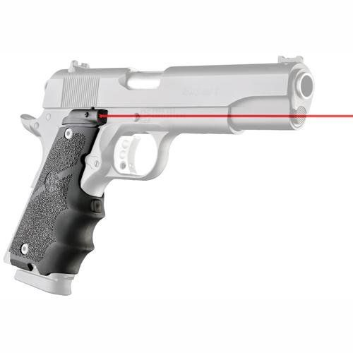 Buy Hogue LE Government Rubber Laser Grip with Finger Grooves for