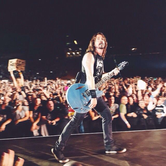 Dave Grohl - He is one sexy man and one AMAZING musician.