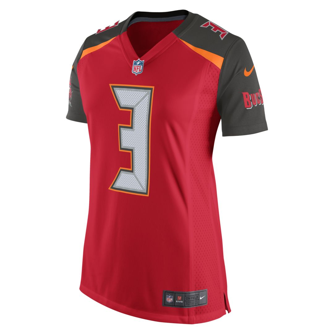 9b1b30cdc NFL Tampa Bay Buccaneers (Jameis Winston) Women's Football Home Game Jersey  Size M (University Red)