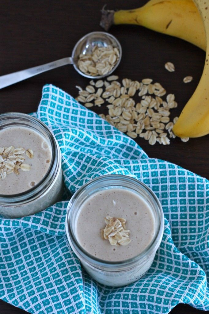 Peanut Butter and Banana Smoothie | TheCornerKitchenBlog.com #peanutbutter #smoothie