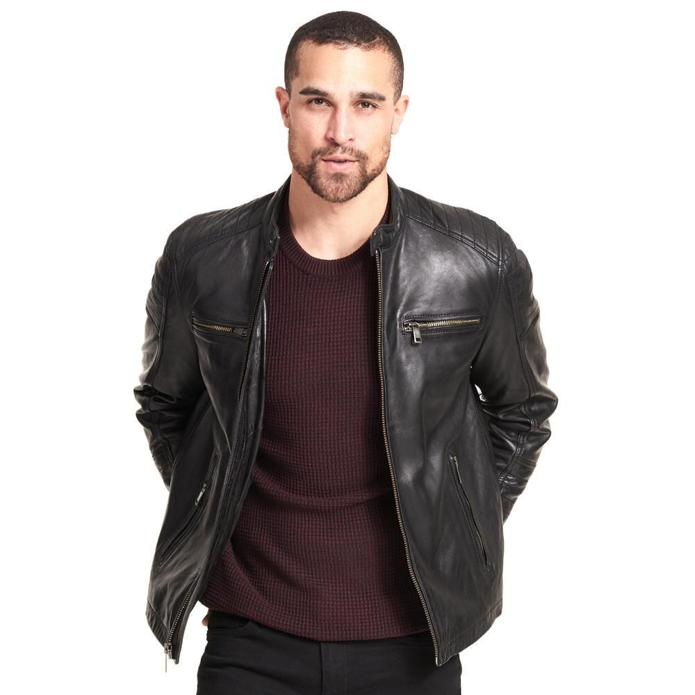 Wilsons Leather Rugged Moto Inspired Leather Jacket 359 99 Our Price Now Leather Jacket Leather Jacket Men Mens Rugged [ 1000 x 1000 Pixel ]