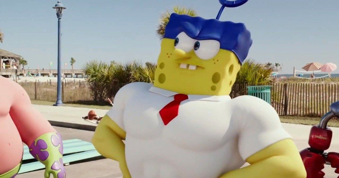 The Spongebob Movie Sponge Out Of Water Trailer  Movie -7878