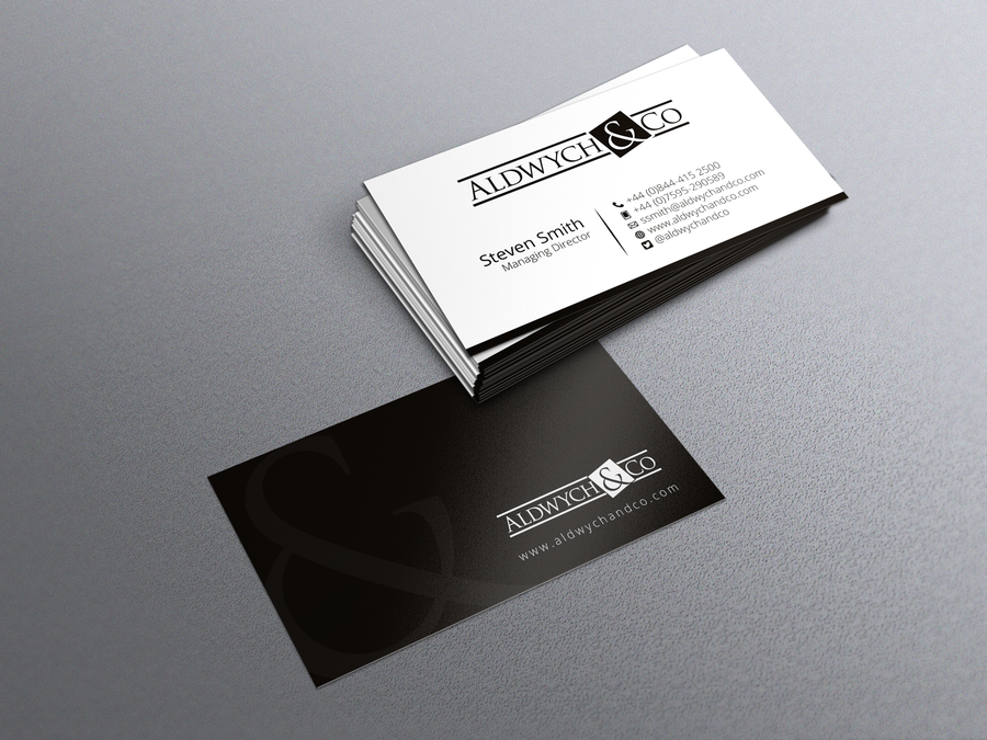 Stunning, simple, beautiful business card required for a fast ...