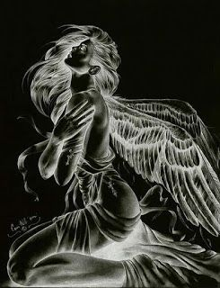 Why couldn't HE wait just one more day? in 2020 | Angel artwork, Angel drawing, Angel art