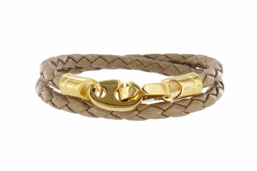 Endeavour Leather Bracelet