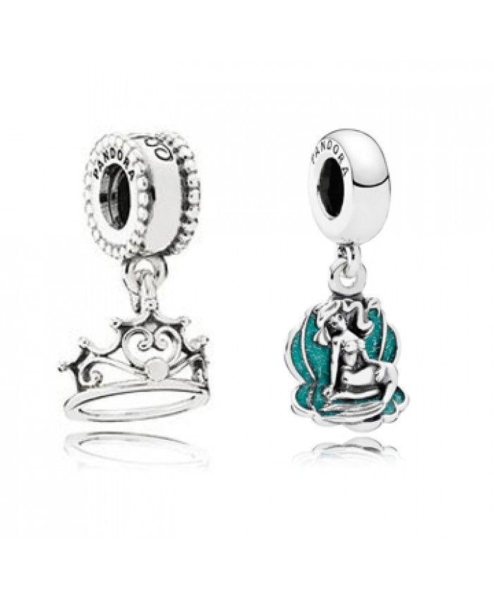 pandora tiara charm disney