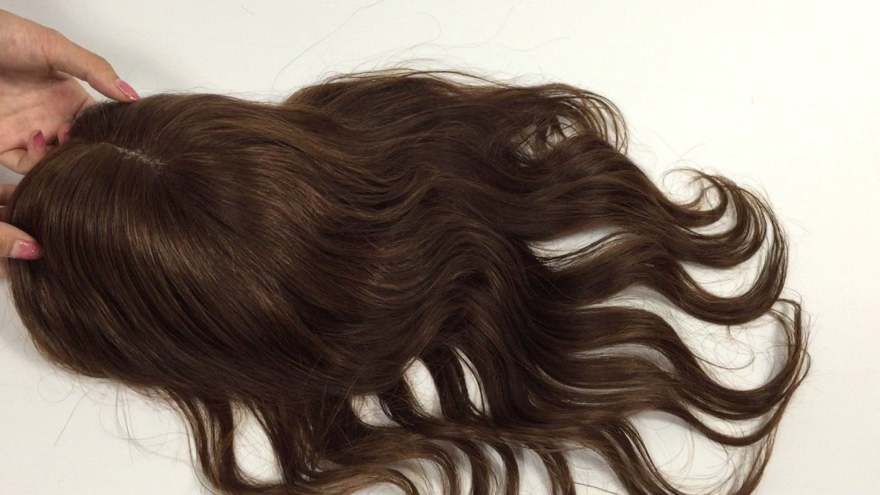 Thin Hair? Try our Luxury Human Hair Hair Toppers Extensiosn,Hair ...