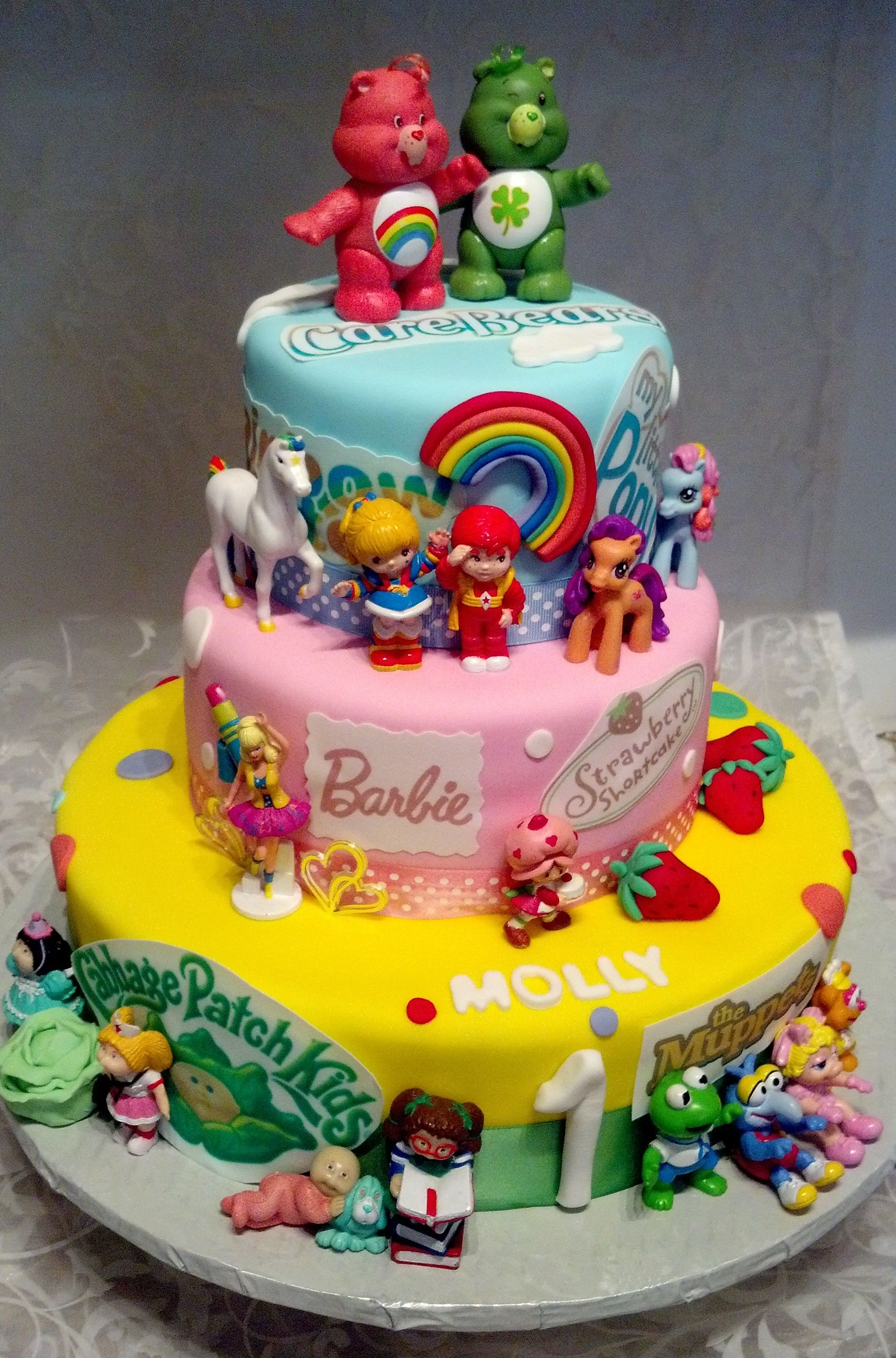 S Themed Character Cakes Yeah This Is All Kinds Of Awesome - Cartoon birthday cake images