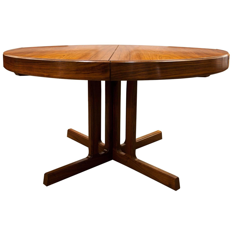 Midcentury modern design rosewood dining table mid century modern