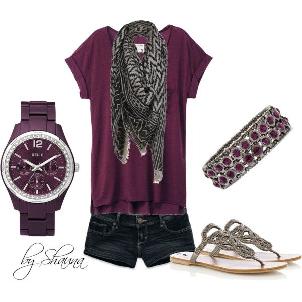 Love the deep purple, created by shauna-rogers on Polyvore