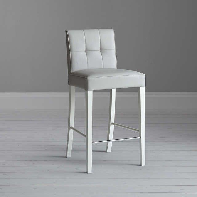 8224846b789 BuyJohn Lewis Simone Faux Leather Bar Chair