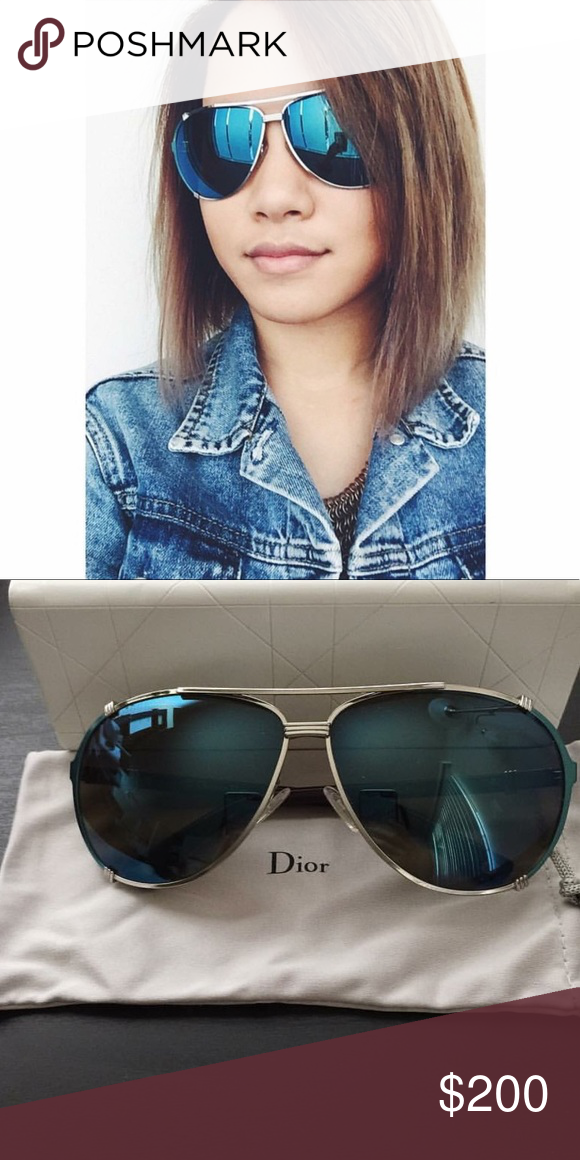 792091998496 CHRISTIAN DIOR • Chicago 2 sunglasses Brand new . Never worn. Authentic  Christian Dior Chicago