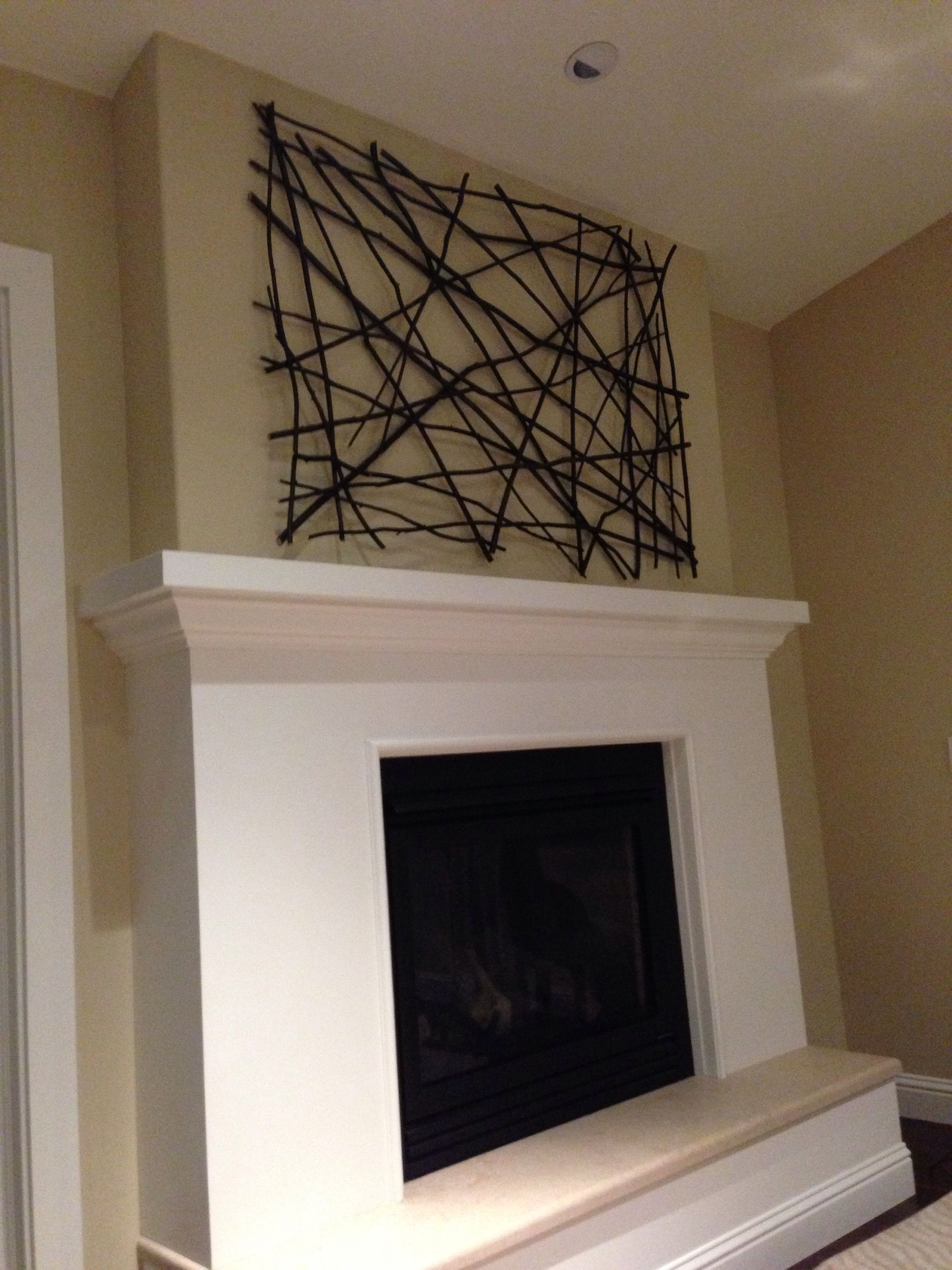 Black Willow Twig Art Piece By David Ward Twigart Twig Art Diy Large Wall Art Twig Crafts