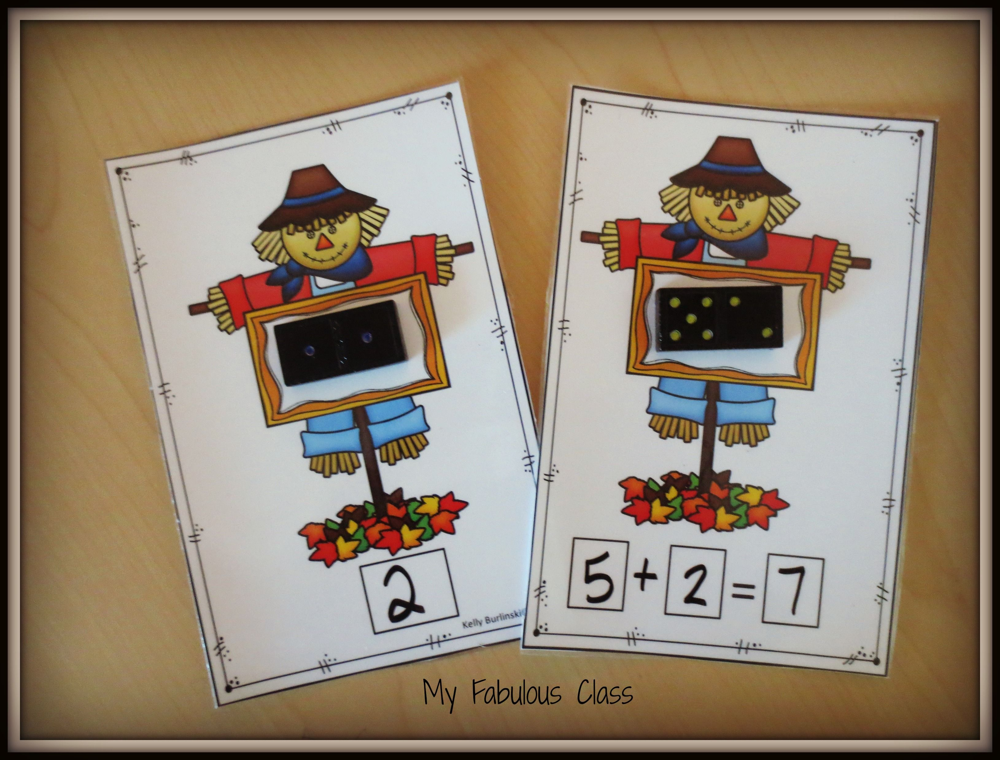 Scarecrows And Dominoes Your Class Will Love All Of These