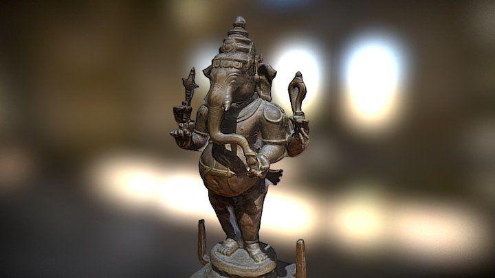 The elephant god Ganesha by Geoffrey Marchal | Staff picks