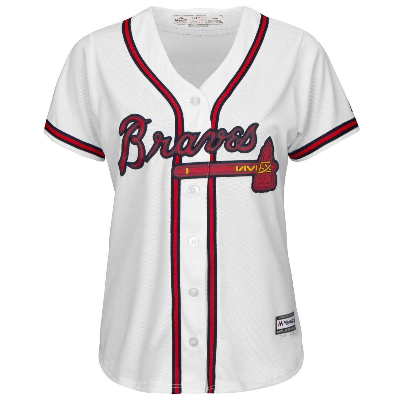 Women S Majestic Dansby Swanson White Atlanta Braves 2019 Home Cool Base Player Jersey Atlanta Braves Jersey Braves Jersey Atlanta Braves Outfit