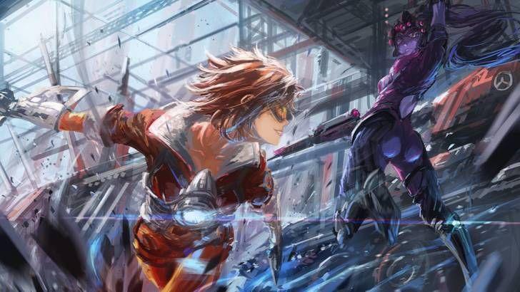 Battle Vol 2 Overwatch Tracer Overwatch Fan Art Overwatch Wallpapers