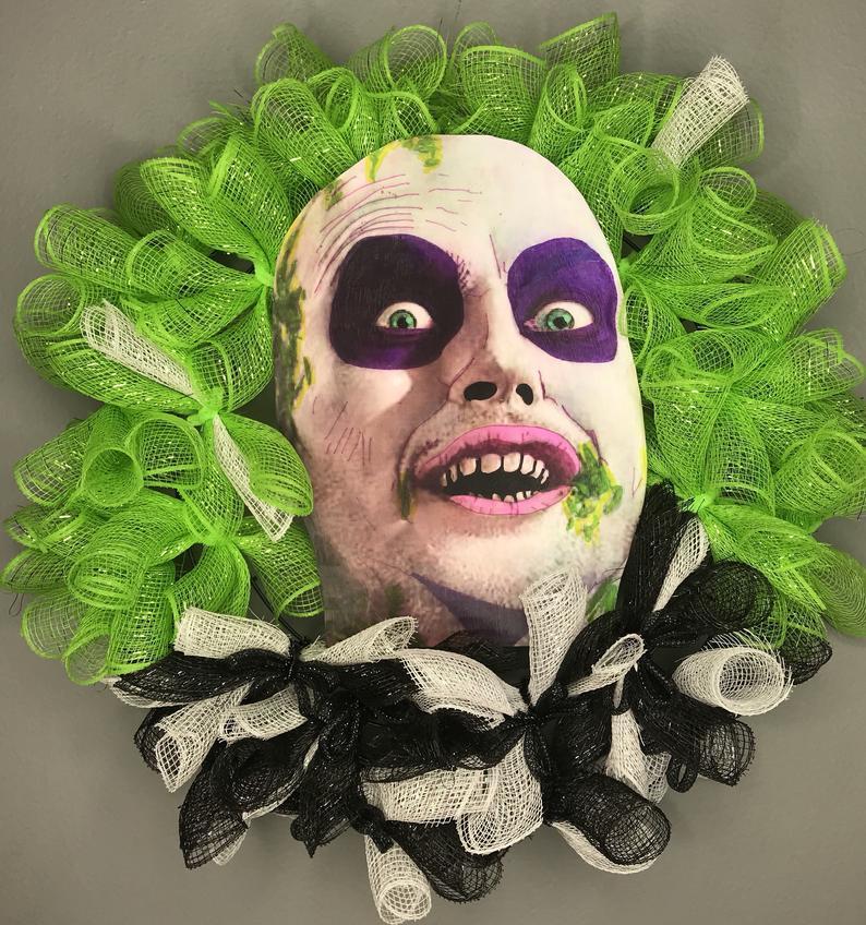 Halloween Wreath 2 #halloweencostumesmen