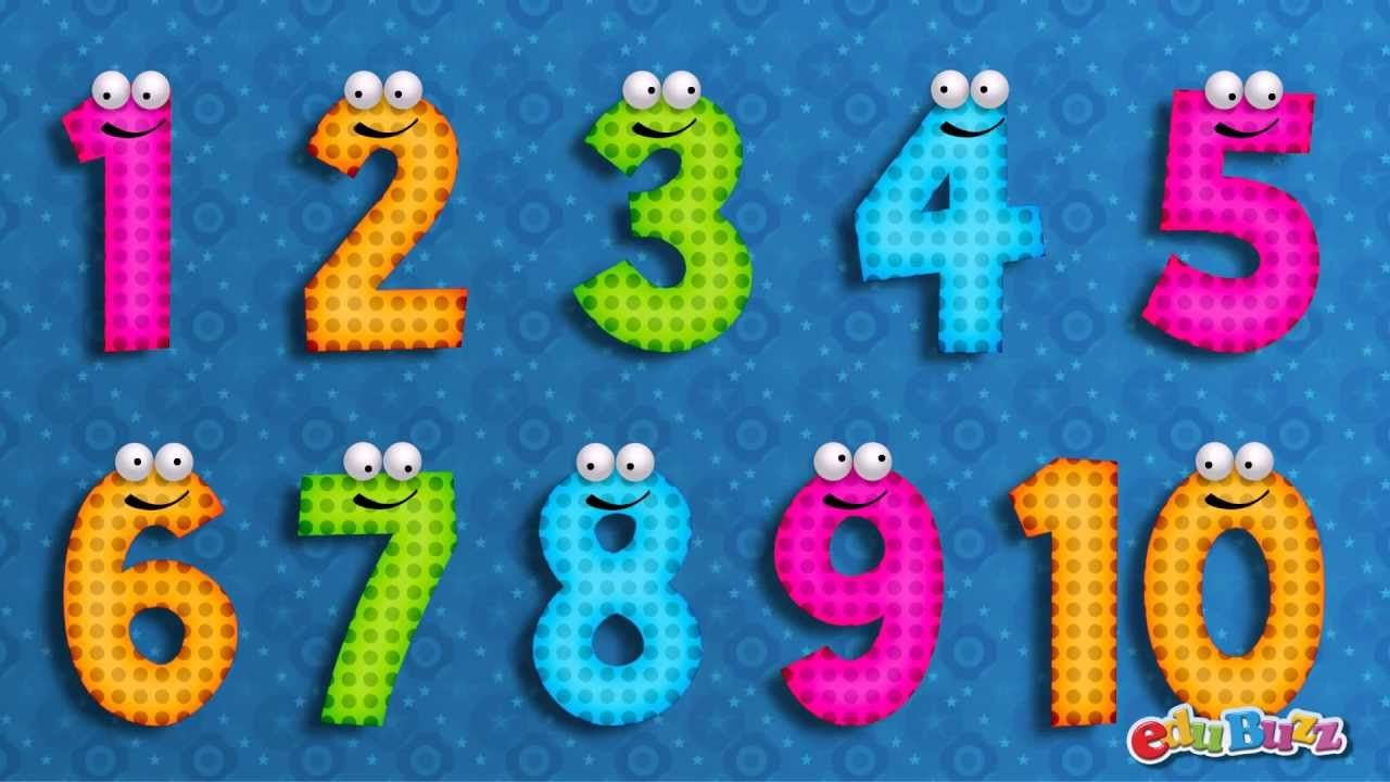 10 Little Numbers Song For Children Numbers Song Kids Songs