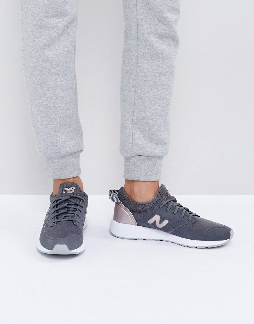 new balance 420 trainers rose gold