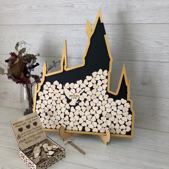 Hogwarts House Guestbook Alternative