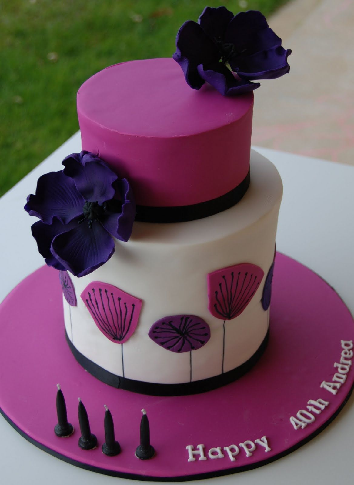 40th birthday cake Google Search Birthday cake for