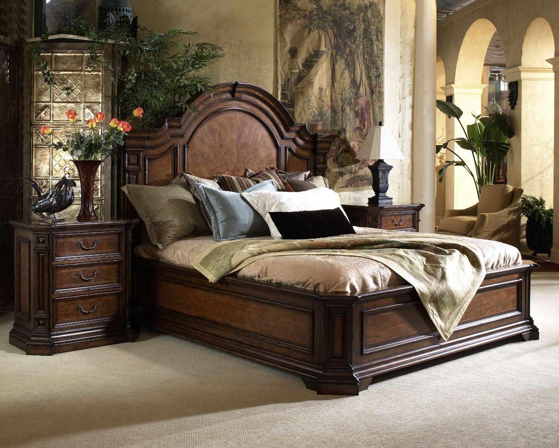 Viniterra Mantle Bedroom Set Fine Furniture Design Home