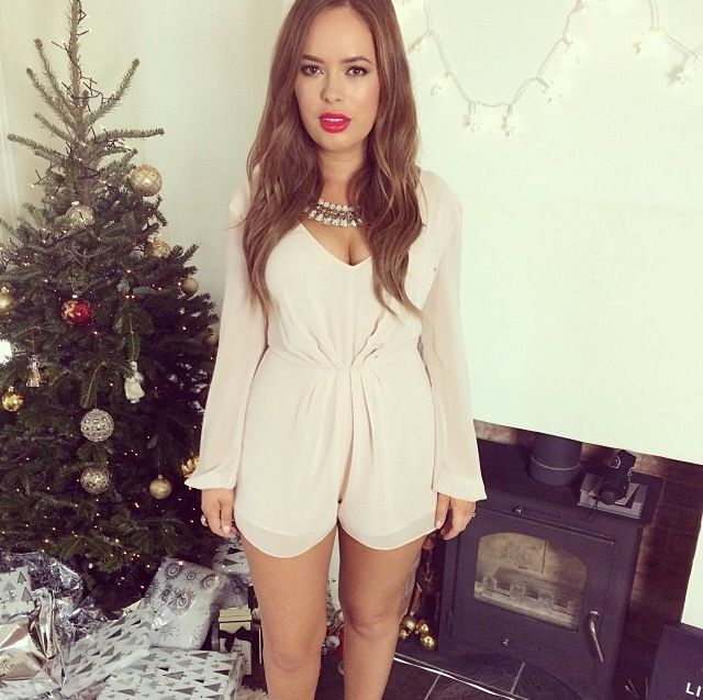 This playsuit is flawless, especially on #tanyaburr