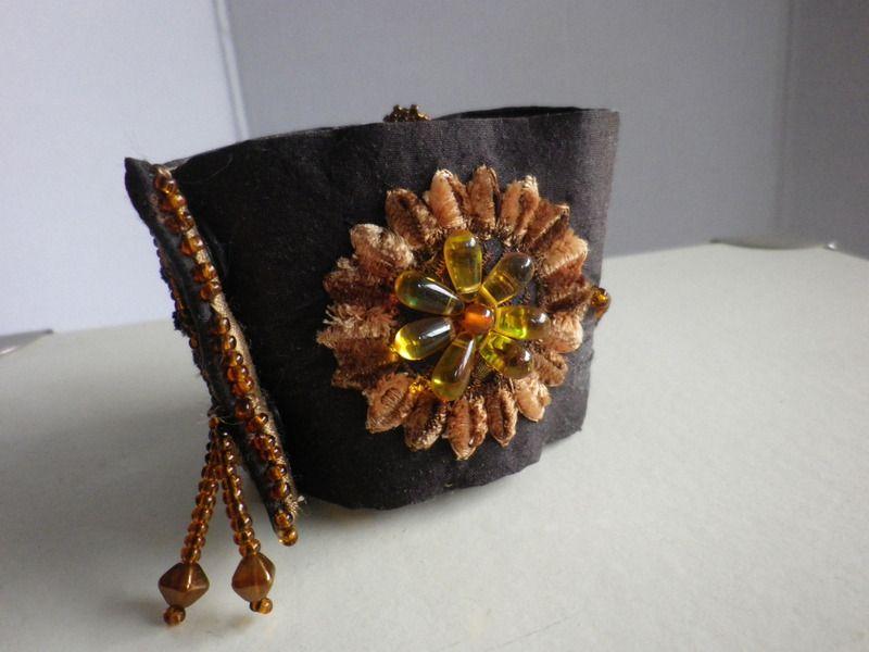 Stoffarmbänder - Seidenarmband  Sarina - ein Designerstück von ADEOLA bei DaWanda