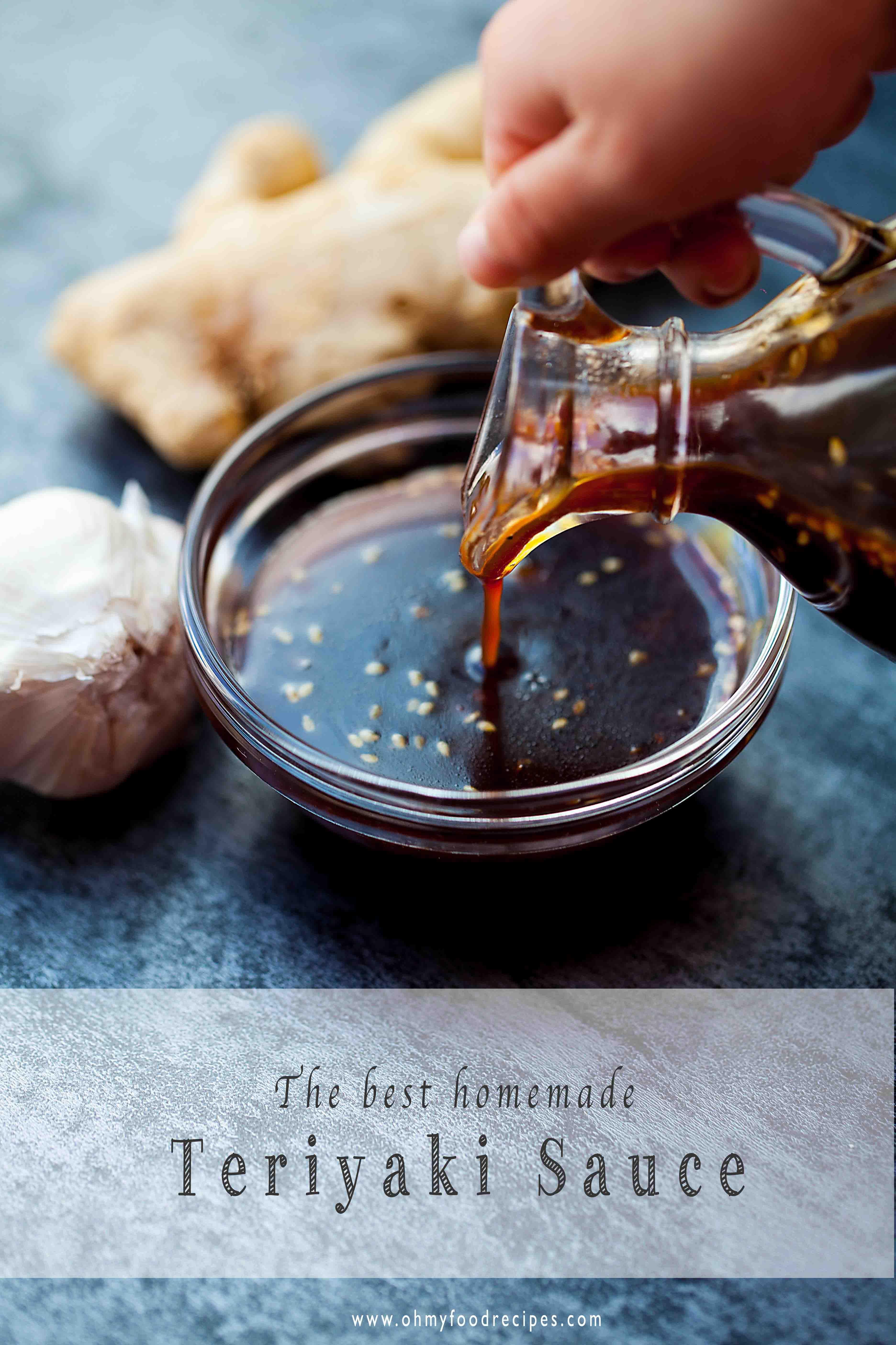 Homemade Teriyaki Sauce 照り焼き Oh My Food Recipes Recipe Teriyaki Sauce Recipe Homemade Teriyaki Sauce Teriyaki Sauce