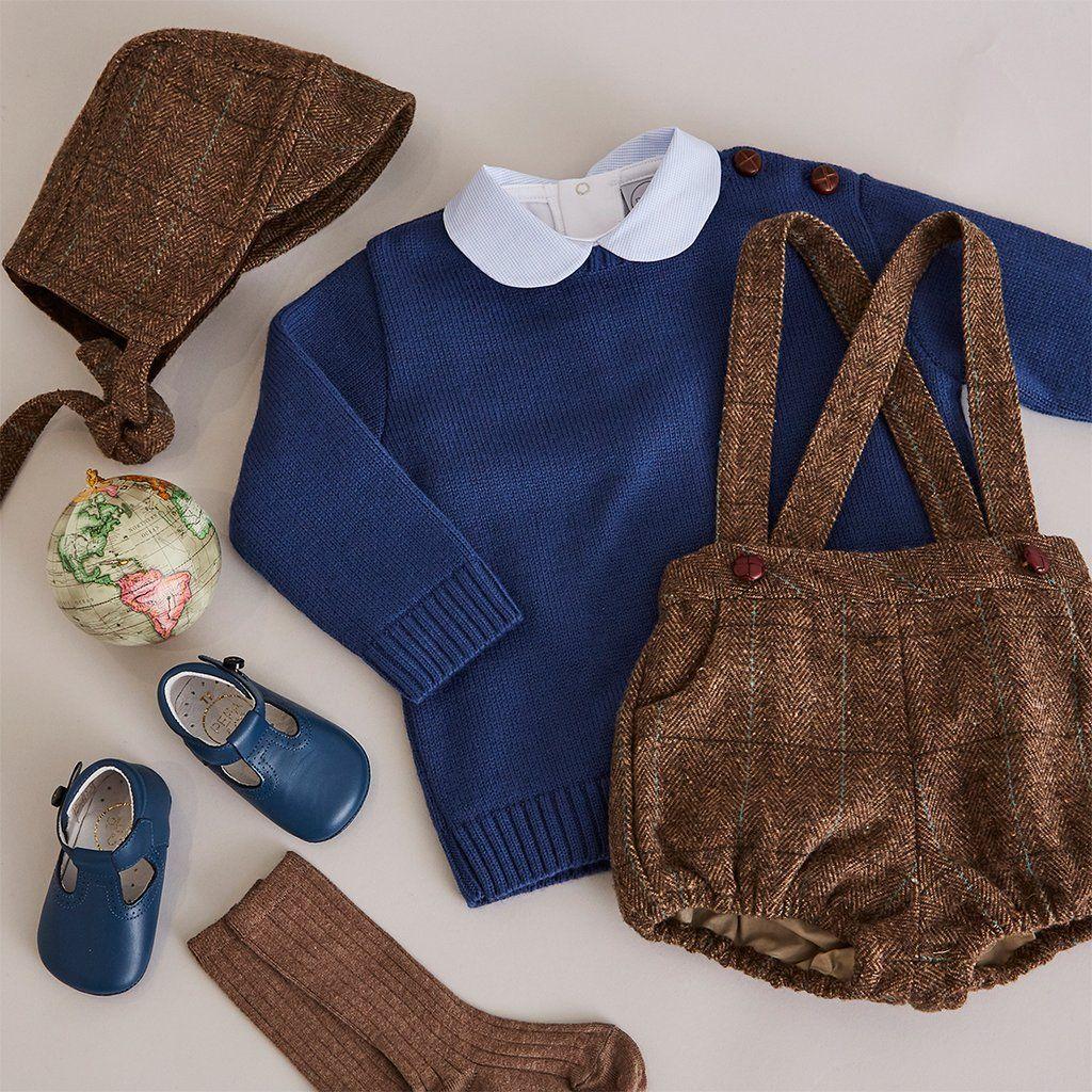 Photo of Classic Blue Wool Jumper