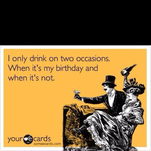 drink on my birthday