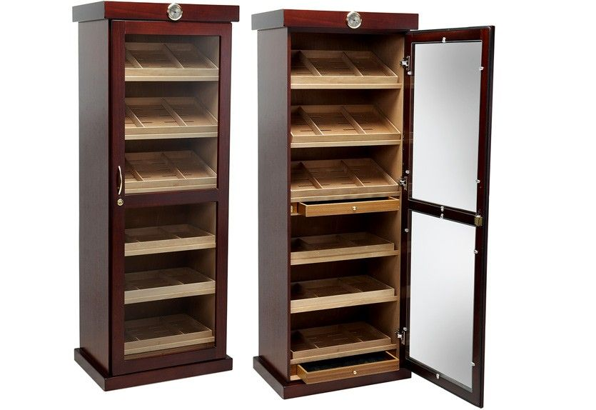 Cabinet Cigar Humidors Affordable Prices The Lemans Cigar Humidor Humidor Humidor Cabinet