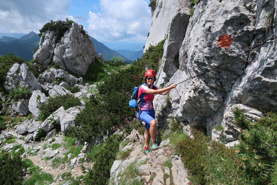 Klettersteig Deutschland : Klettersteig kampenwand steig in deutschland